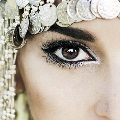 EYE OF HORUS SELENA WHITE PENCIL AND LIQUID EYELINER BLACK