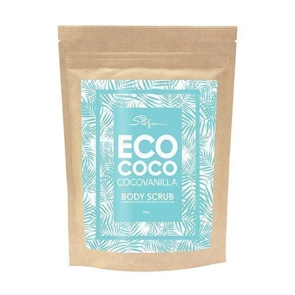 eco coco vanilla body scrub