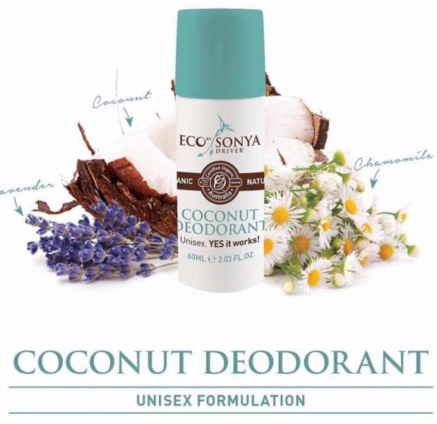 1Eco by Sonya Organic Coconut roll on deodorant