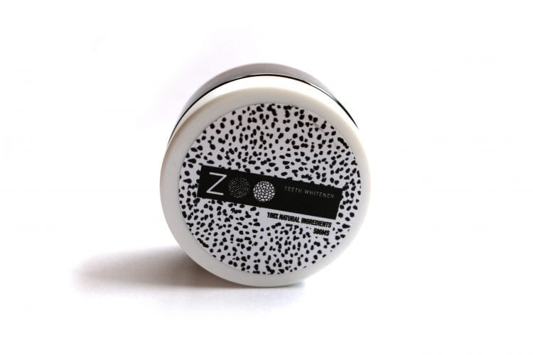 ZOO charcoal teeth whitener