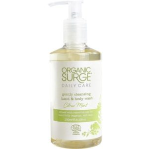 Organic surge citrus mint hand and body wash