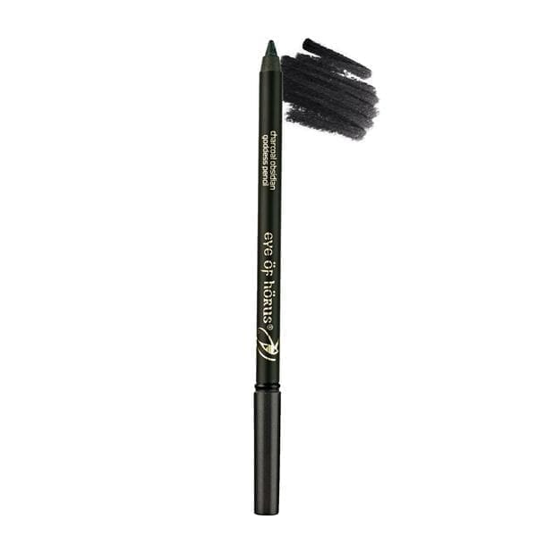 Charcoal Obsidian eye of horus goddess pencil
