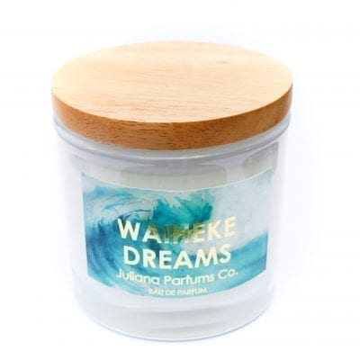julianna parfums co waiheke dreams soy candle
