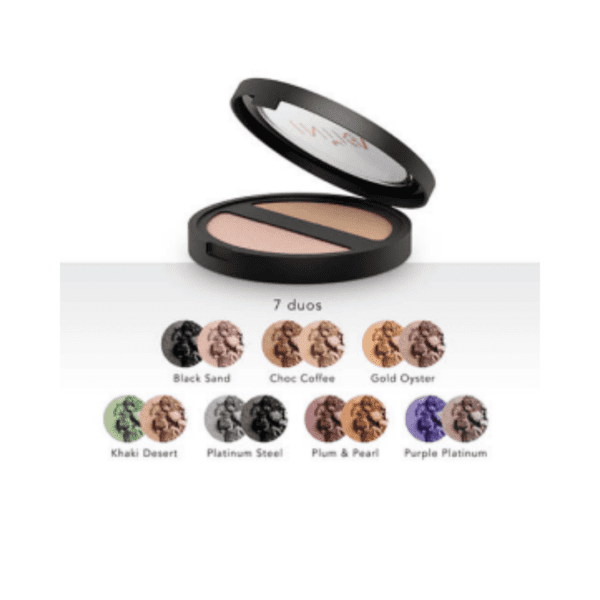 INIKA ORGANIC MINERAL PRESSED EYE SHADOW DUO