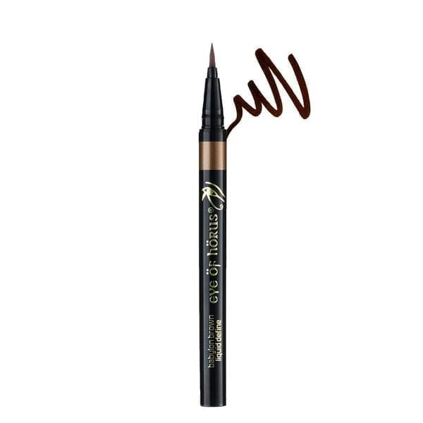 Eye of HORUS LIQUID EYELINER PEN BROWN