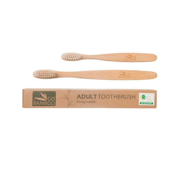 go bamboo toothbrush