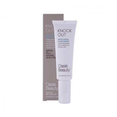 Oasis beauty knockout spf moisturiser
