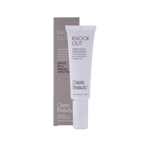 Oasis beauty knockout spf moisturiser