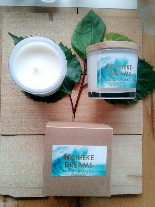 julianna parfums co waiheke dreams soy candle
