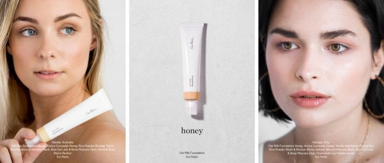 Ere perez oat milk foundation honey