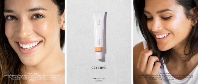 Ere perez oat milk foundation caramel