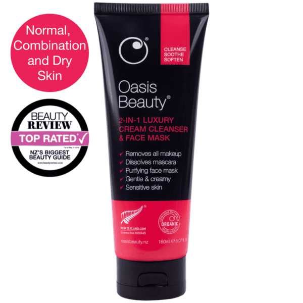Oasis Beauty 2 in 1 cream cleanser
