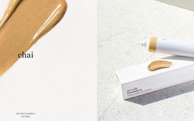 Ere Perez Makeup Look featuring Oat Milk Foundation