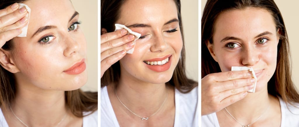 The best way to remove makeup with makeup remover, oils and cleanser