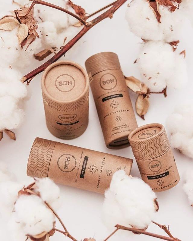 BON certified organic tampons