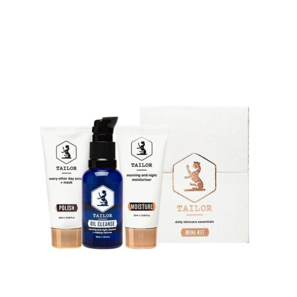 Tailor Skincare Mini Kit Travel Size