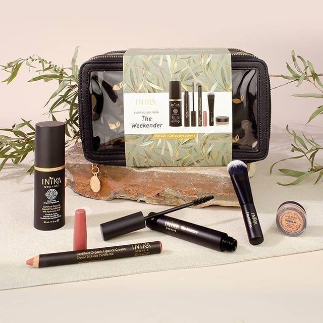 Inika summer essentials makeup kit