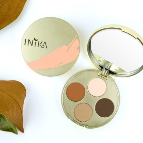 Inika organic limited edition eyeshadow palette desert