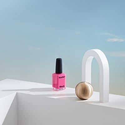 Kester BlackBarbie nail polish