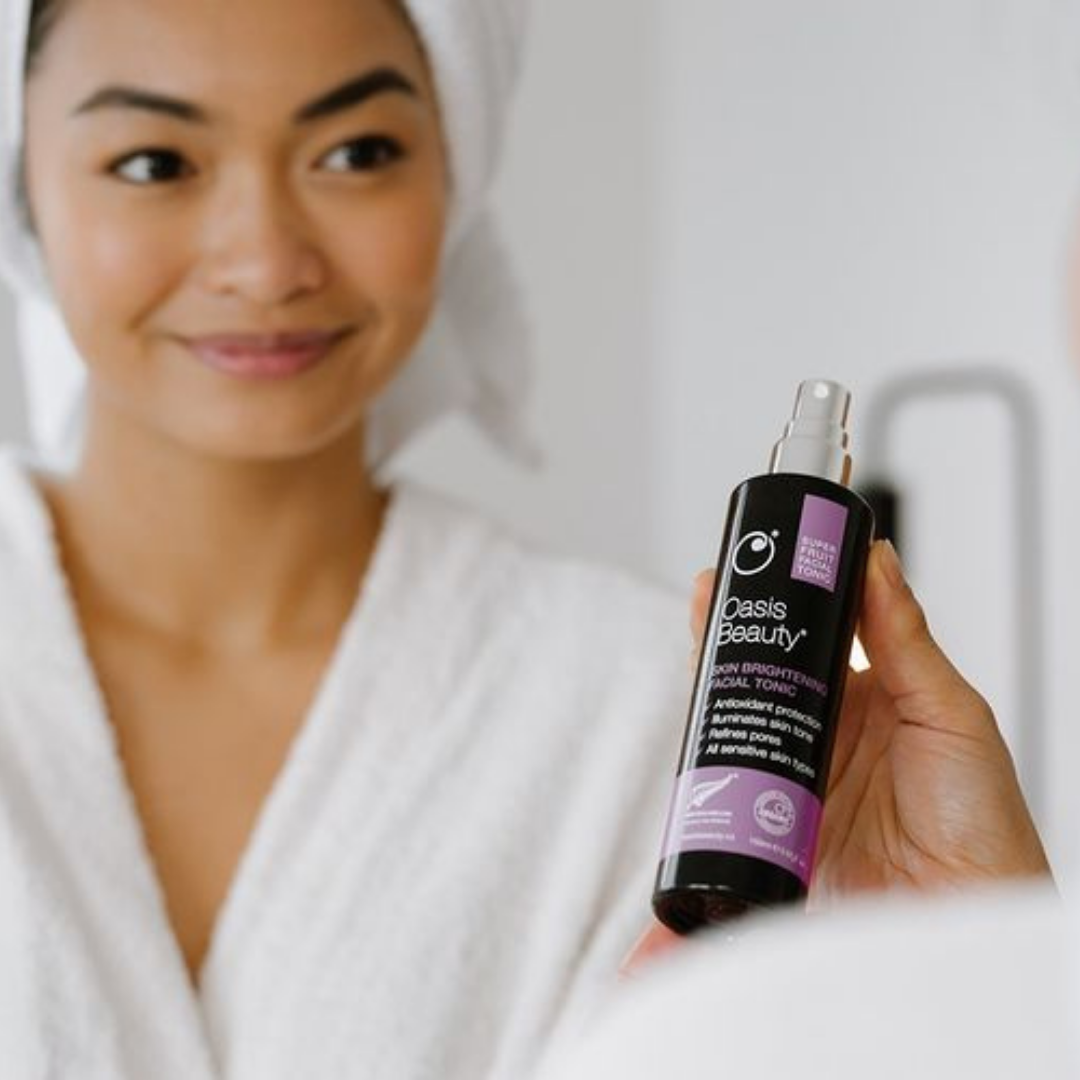 Oasis Beauty Skin Brightening Facial Tonic